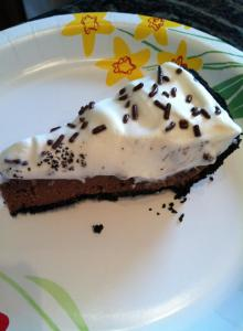 chocolate creme pie