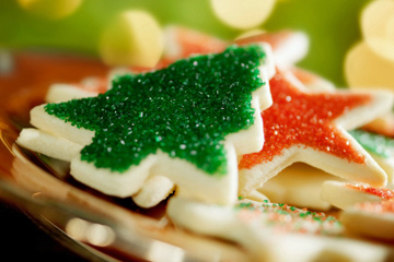 Christmas Cookies--without Eggs and Nuts  (1/2)