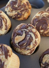 Nutella Cupcakes, Photo Credit: Shine.Yahoo.com