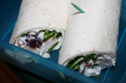 It's a wrap... chicken salad wrap