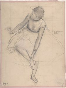 Edgar Degas, Dancer Adjusting her Slipper. Credit: Wikimedia, Creative Commons