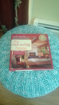 Just one of Susan Saranka's many helpful decorating books for small houses and spaces!