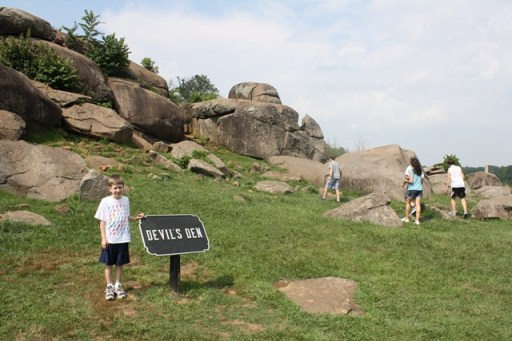 My nephew especially enjoyed visiting Devil's Den with my family last summer!