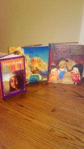 There are wonderful books that can help you nurture your child's faith.