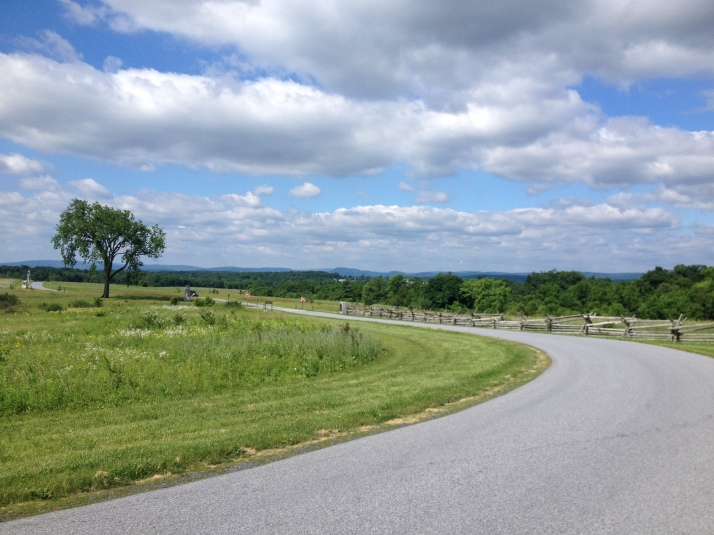 The gorgeous setting of the Spirit of Gettysburg 5K